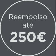 Reembolso ate 250 euro