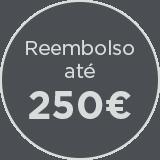 Reembolso ate 250euro